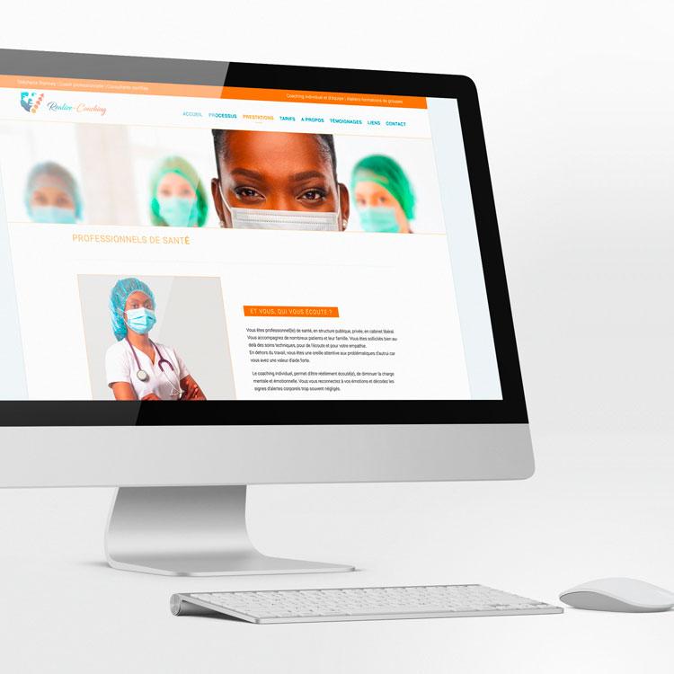 Image  du site realize-coaching ©fridasky - webdesigner
