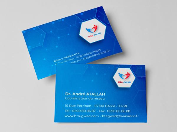 Cartes de visite HTA Gwad
