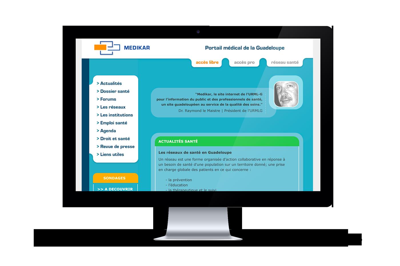 Medikar Website Accueil