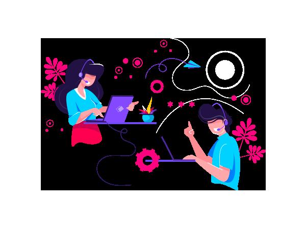 Illustration relation clients