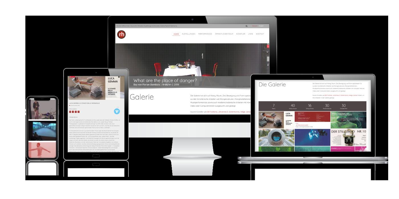 Site internet Galerie RH